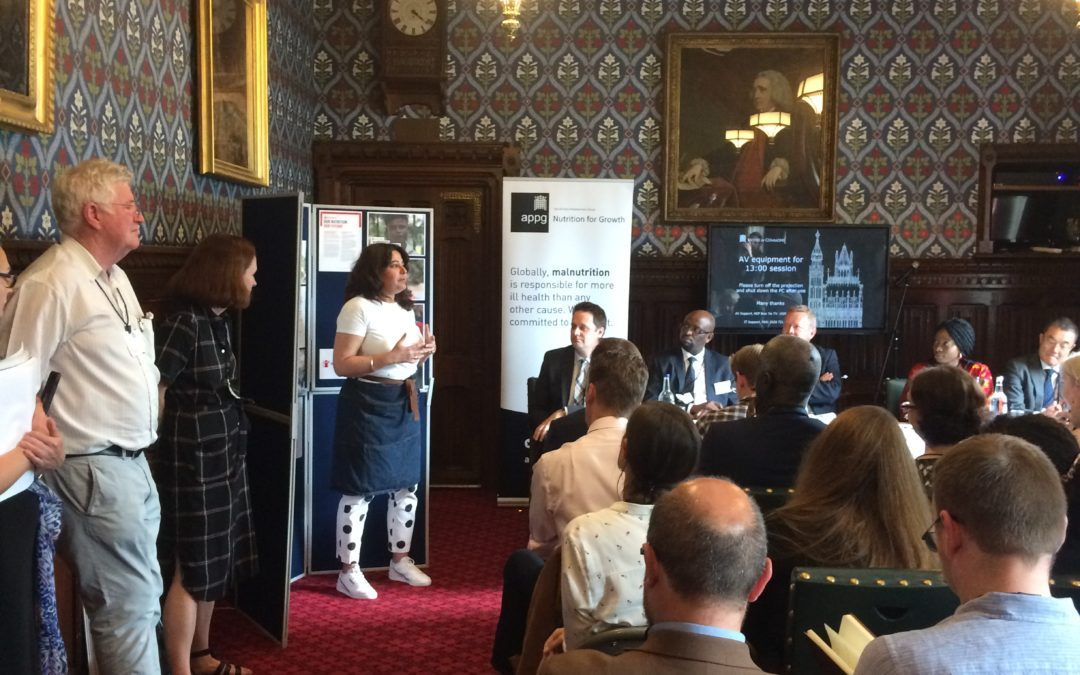 Launch of the APPG on Nutrition for Growth